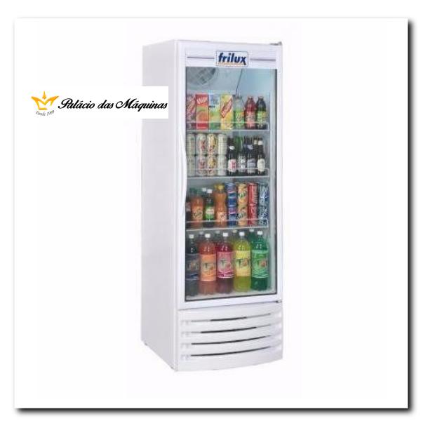 Geladeira Vertical 410 litros Frilux Branco Palacio das Máquinas Equipamentos para Estabelecimentos Comerciais