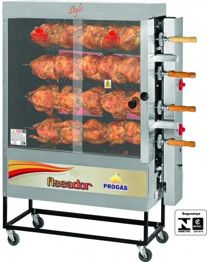 Máquina de Frango Espeto Palacio das Máquinas Equipamentos para Estabelecimentos Comerciais