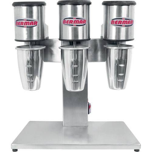 Batedor Milk Shake Bermar Copo Triplo Palacio das Máquinas Equipamentos para Estabelecimentos Comerciais