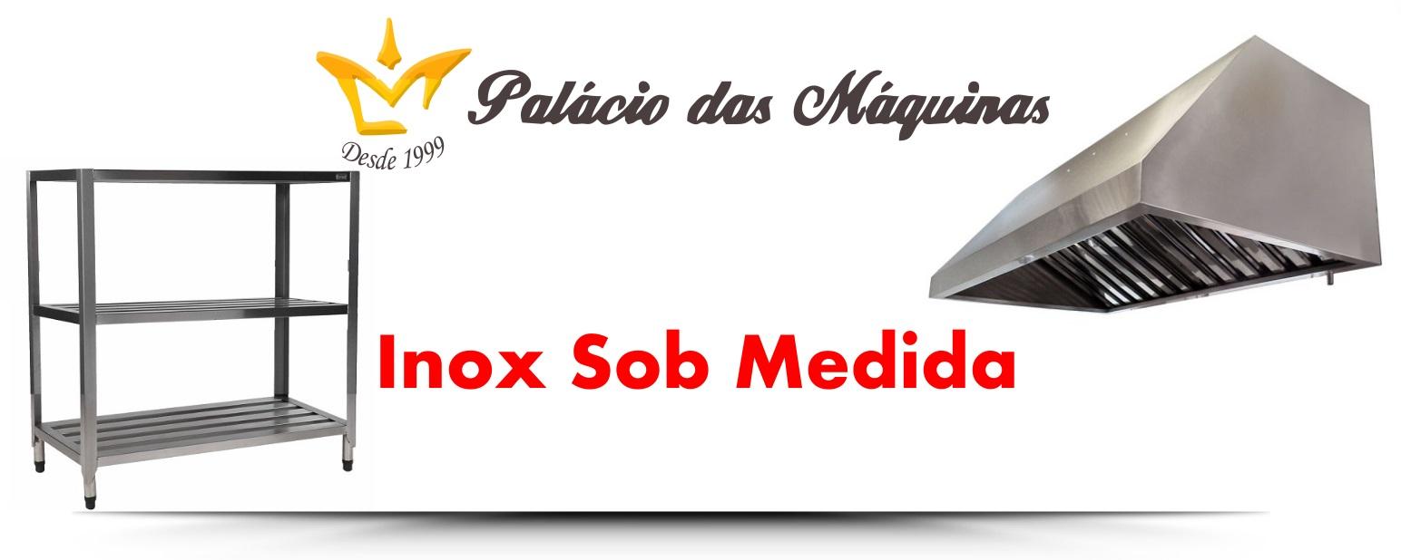 Palacio das Máquinas Equipamentos para Estabelecimento Comercial Inox Sob Medida