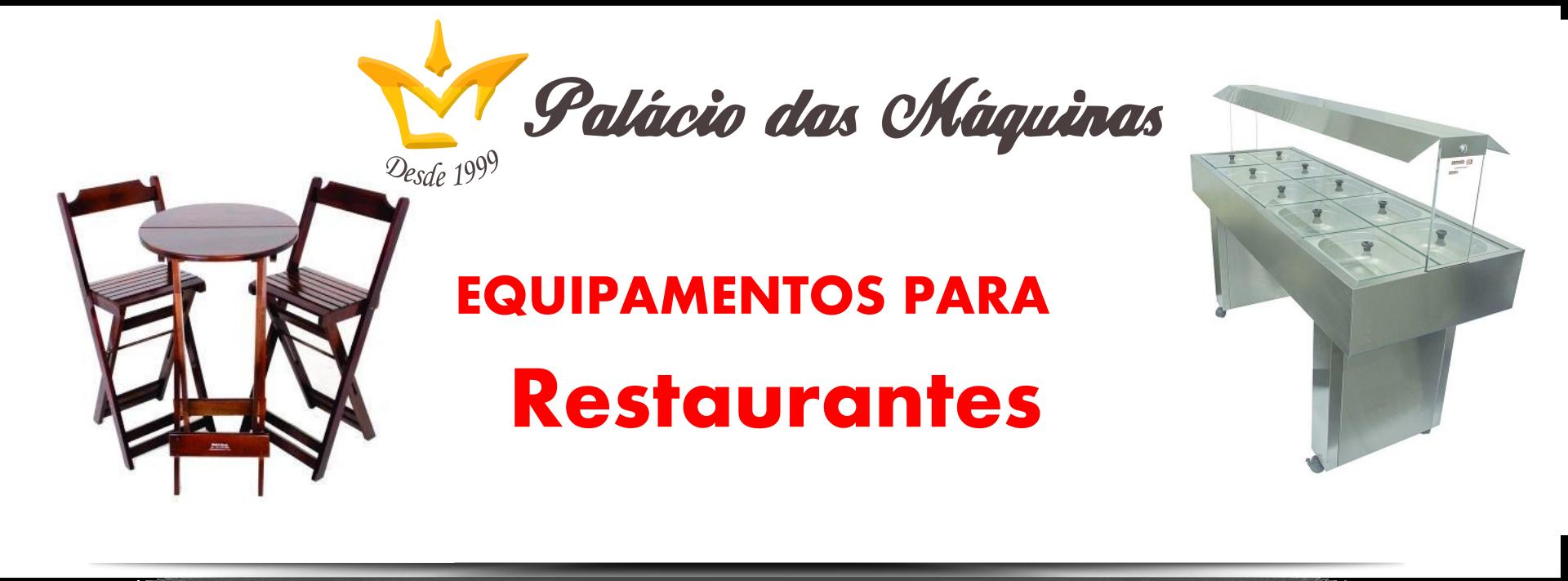 Palacio das Máquinas Equipamentos para Restaurantes