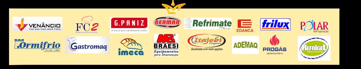 Banner Palacio das Maquinas Equipamentos Cozinha Industrial Grandes Marcas do Mercado