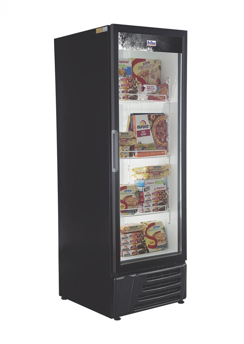 Freezer vertical porta cega frilux